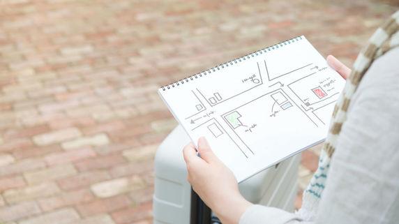 大家稼業の営業道具となる「周辺マップ」作成のポイント