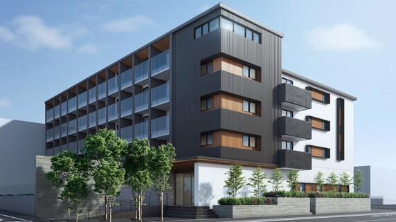 5階建て51戸…三井ホーム「木造マンション」の全貌