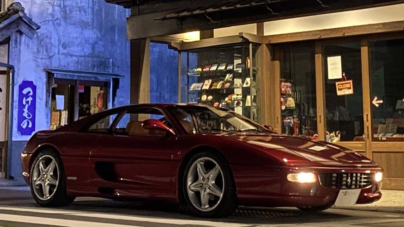 大阪の下町に「謎のフェラーリ」…誰のもの?友達が指差した先