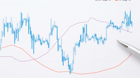 株価のトレンド…移動平均線のゴールデンクロスとデッドクロス