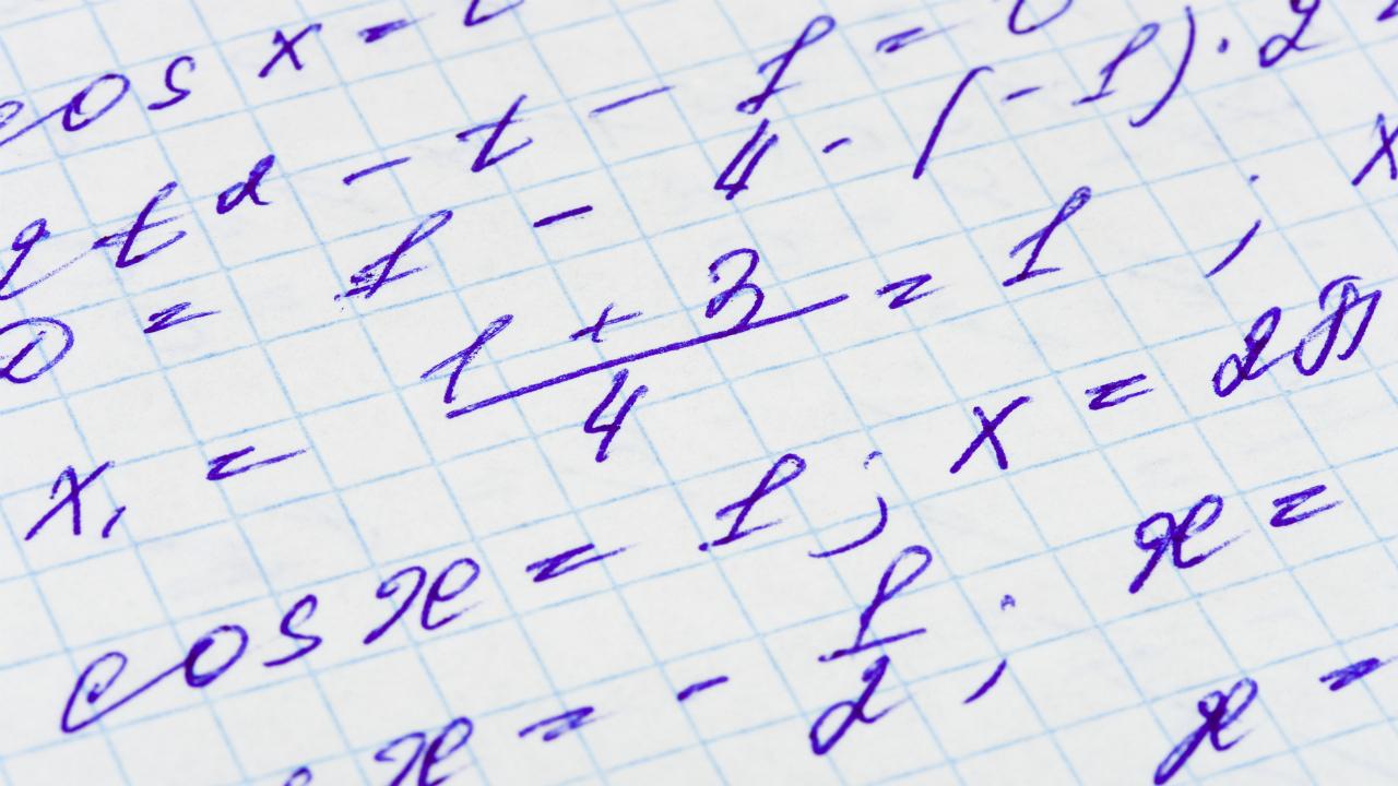 数学の問題を解くには「忍耐力」...