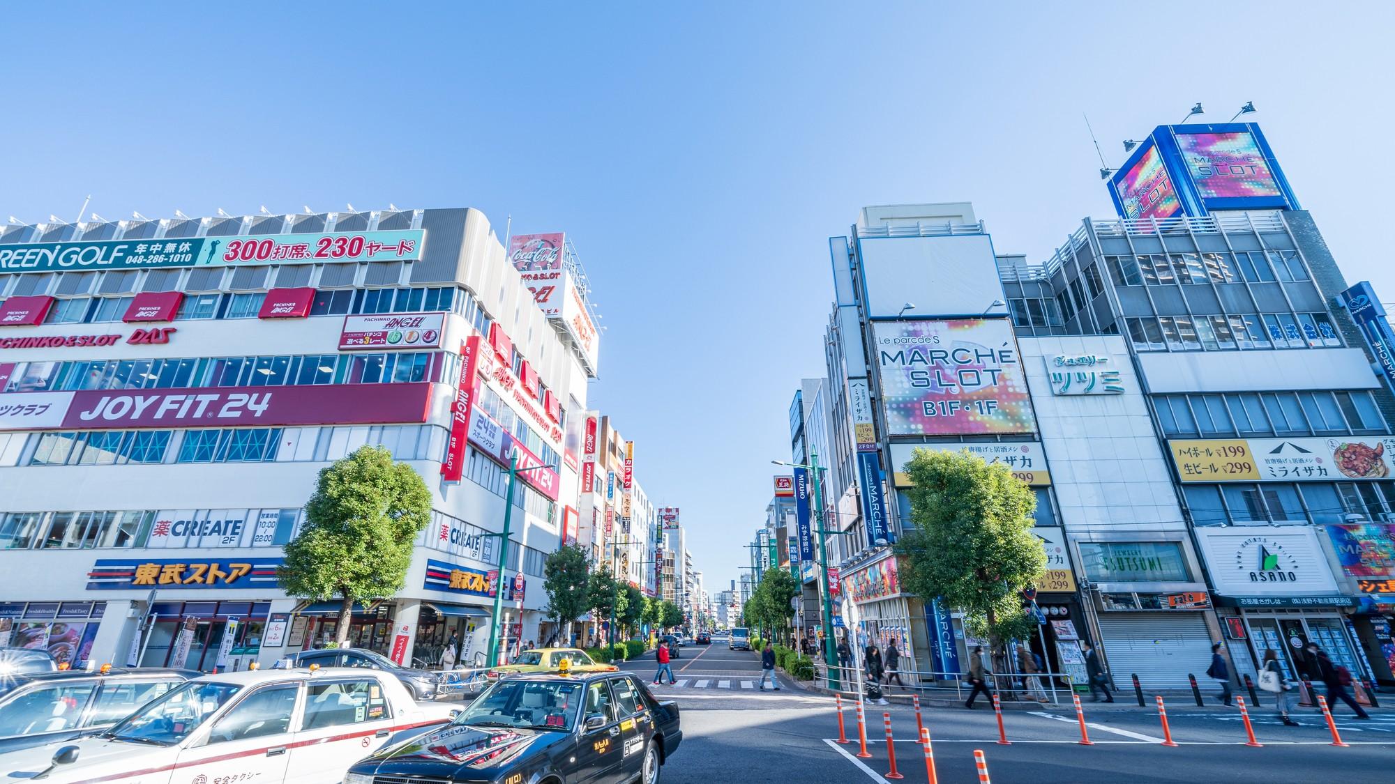 日本一「密」な街・蕨…京浜東北線が走るも、埼玉2位の犯罪率
