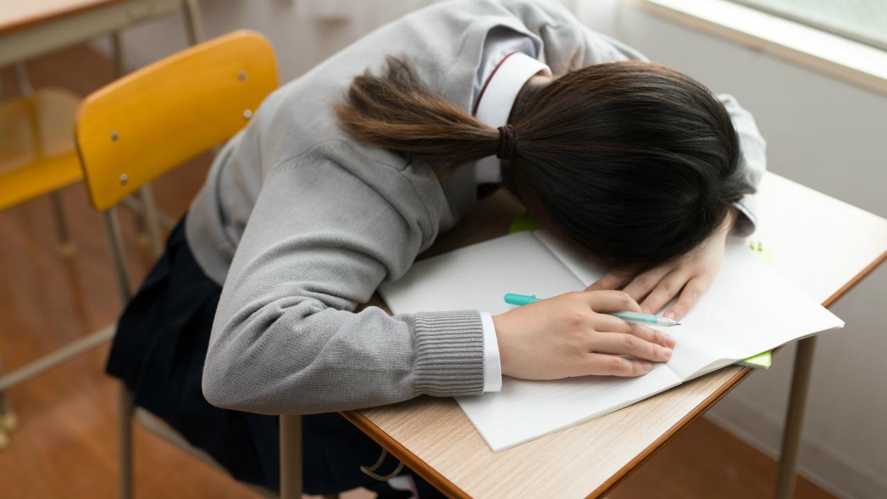 体調不良で受験勉強を休む場合の留意点