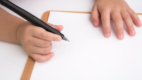 子どもの文字書き練習を「あ」から始めてはいけないワケ
