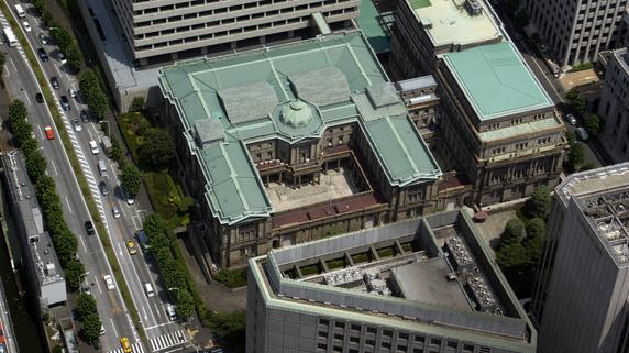 日本銀行のバランスシートと金融政策