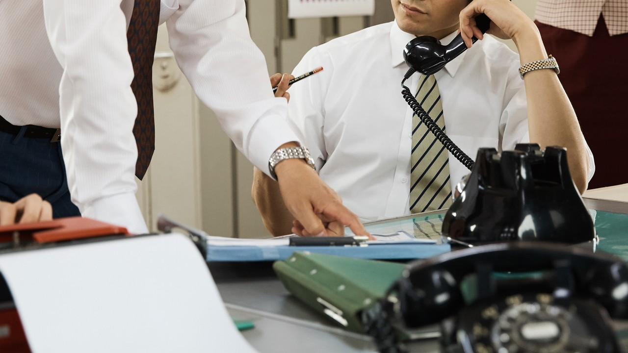 バブル期の日本…会社での「役職・収入」が一目でわかったワケ