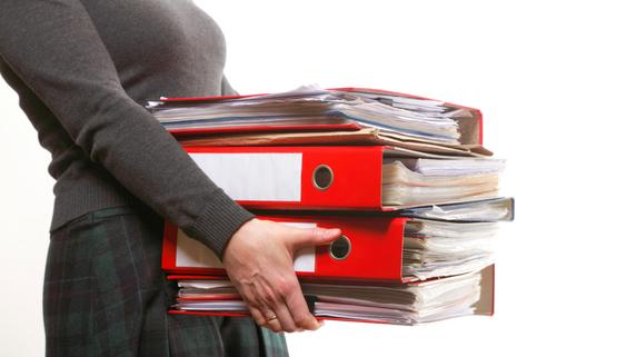 過去の税金関係の書類・・・いつまで保管しておくべきか?