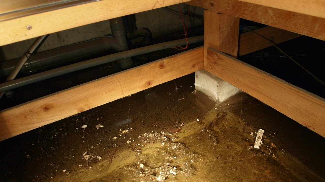 建売住宅の「床下の水漏れ」をチェックする方法