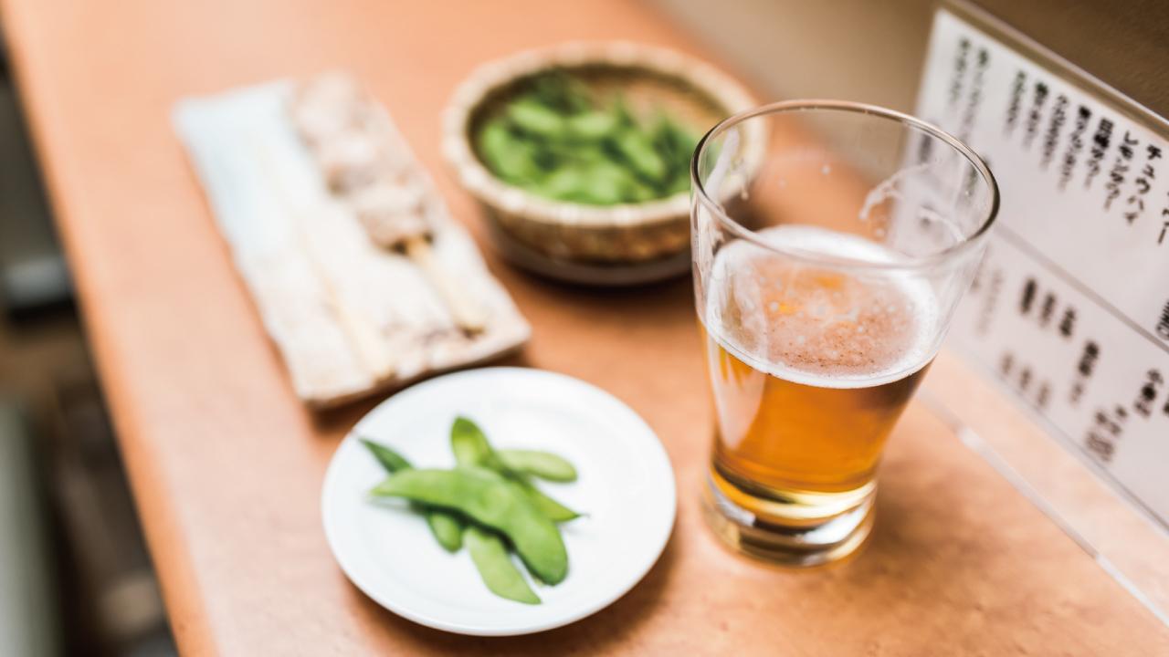 ビールのおつまみには「枝豆」が最適といえる理由
