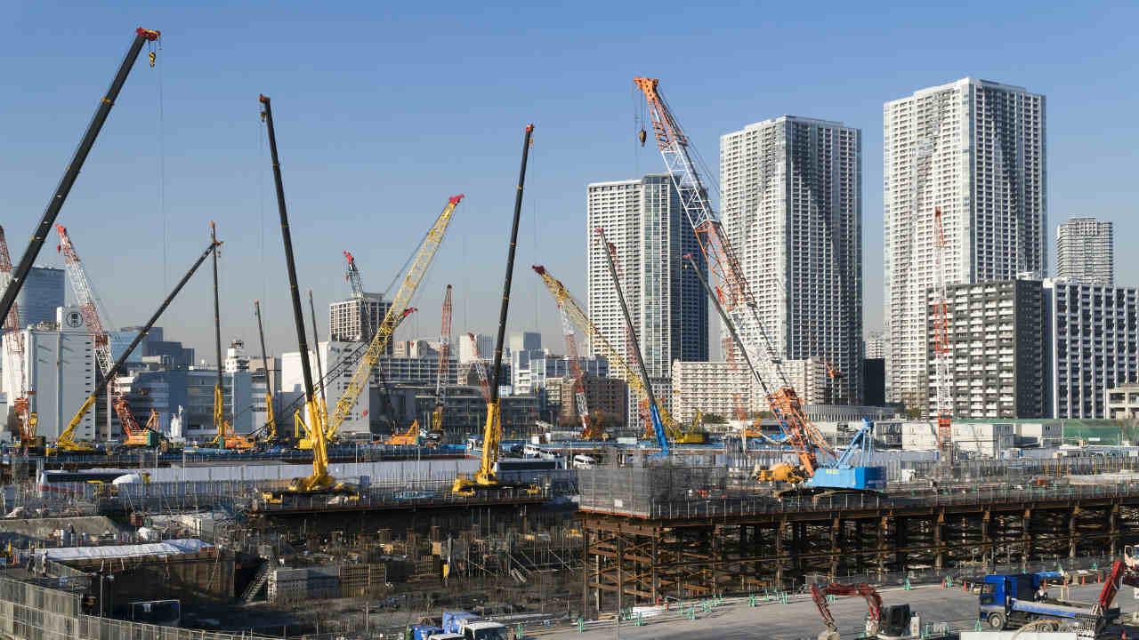 日経平均2万円を目前に上値が重い…今週も建設株の動向を注視