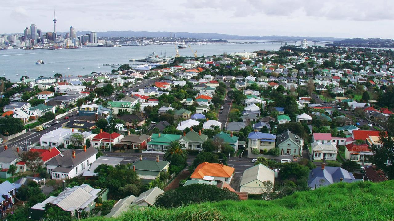 ニュージーランド不動産の地域別「平均賃料」の伸び率
