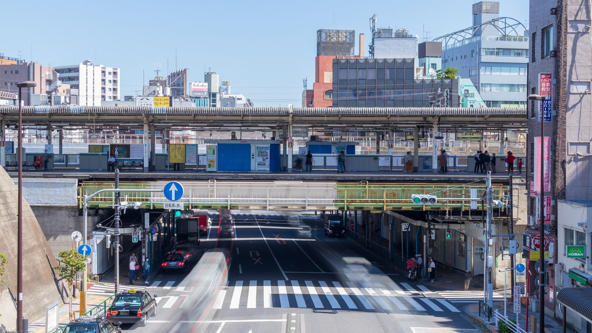 日暮里 東口 西 駅