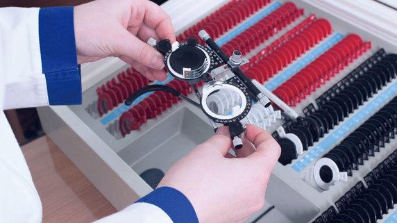 白内障治療に活用・・・「眼内レンズ」の度数を計測する精密機器
