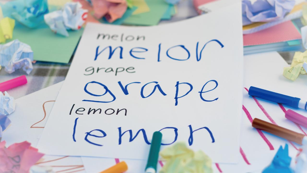 幼児期に「アルファベット」「単語のつづり」をどう学ばせるか