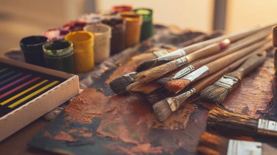 裕福な画家・バジールに助けられた、若き日のモネとルノワール