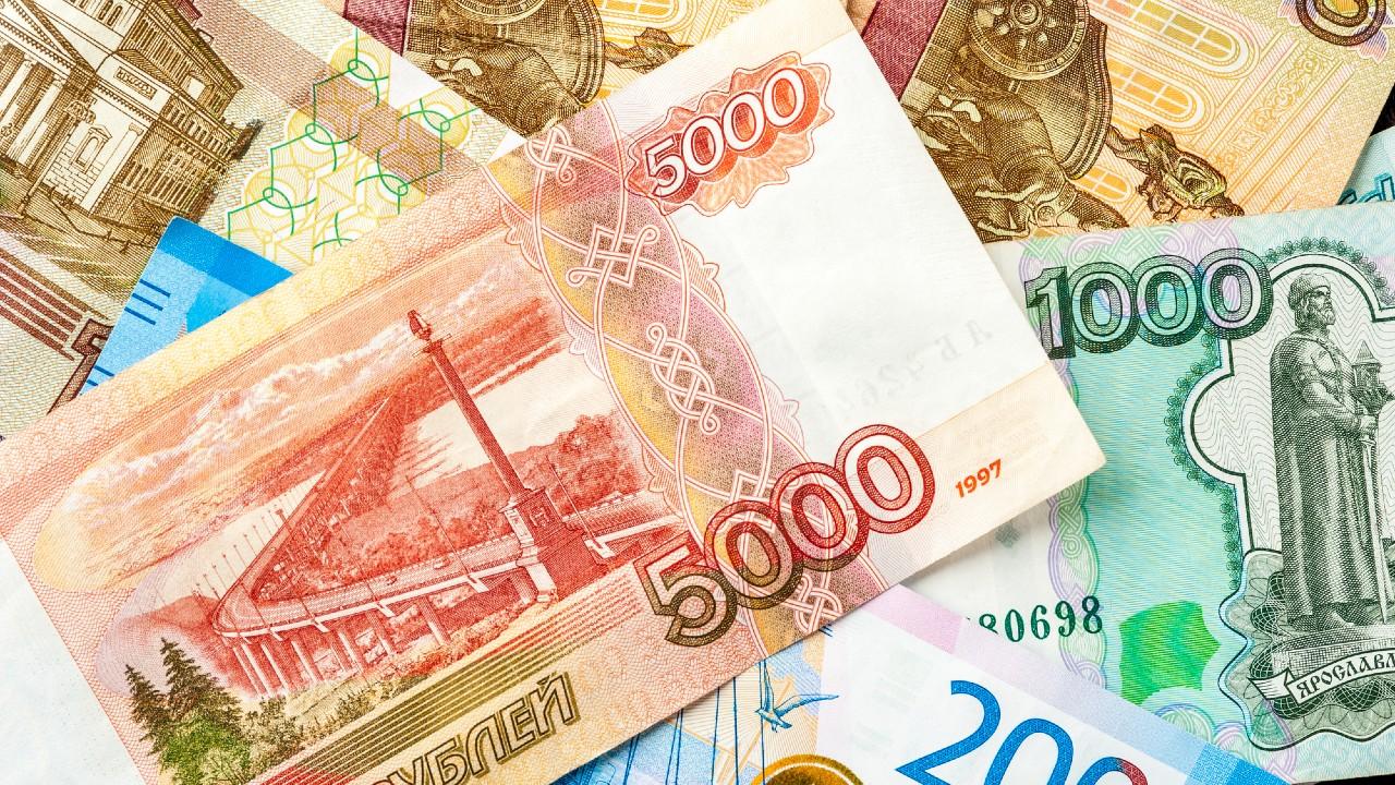 新興国通貨動向:ロシア