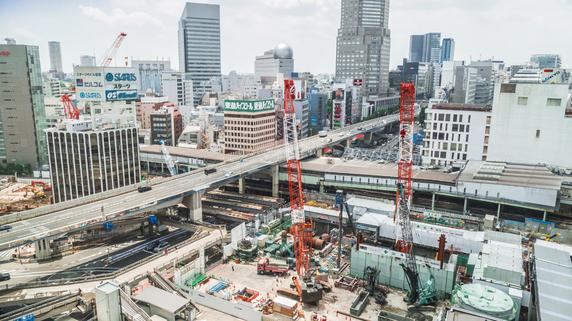 東京の物件を選ぶべき理由③・・・活発な再開発