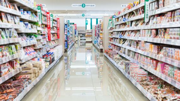 顔画像の商業利用手探り 実際にスーパーの棚にあるのは…