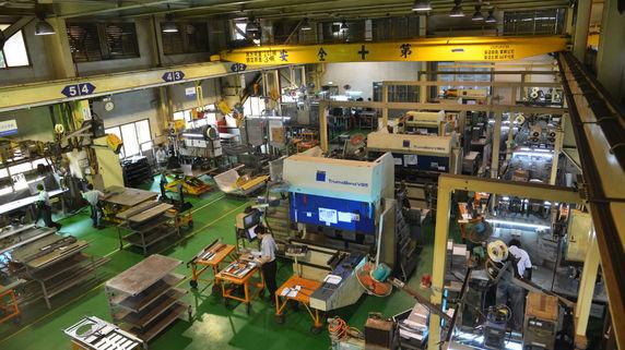 工作機械受注額 6月11.4%増 過度の懸念薄らぐと・・・