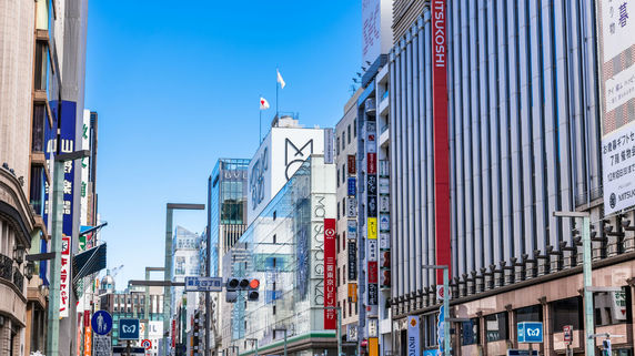 リテールマーケットの動向~銀座ハイストリート③